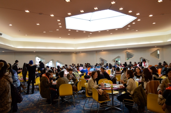 Packed Plaza Restaurant